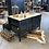 Thumbnail: Antieke stalen werkbank