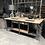 Thumbnail: Oude stalen werkbank