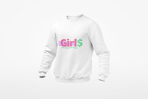 GIRLS WHO GRIND & DESIGN HOODIE
