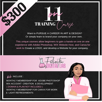 1 ON 1 TRAINING COURSE