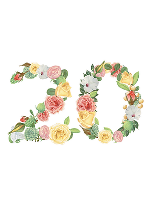 Floral Numbers | PSD