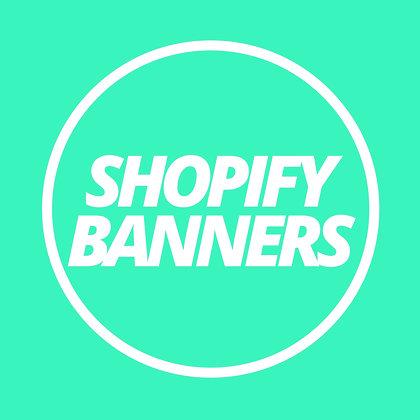 Shopify BANNER BUNDLE