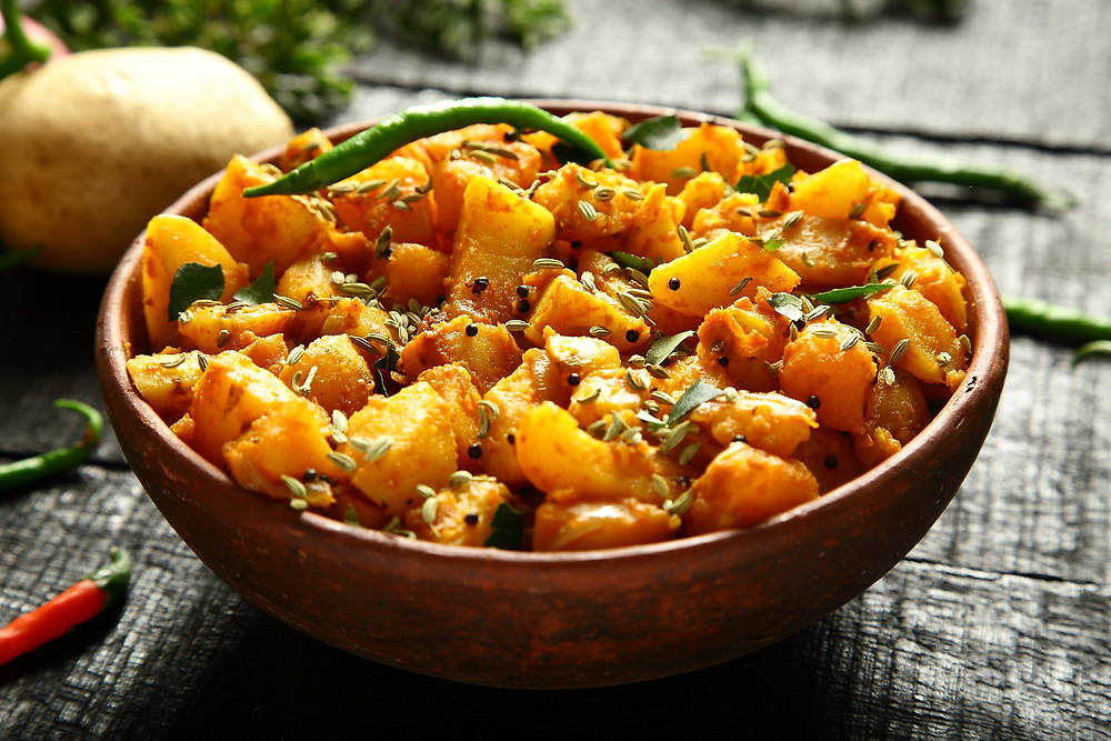 This is a picture of Aloo Rasedar