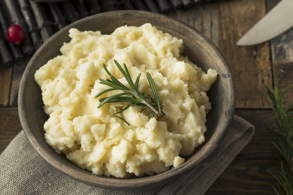 This is a picture of mashed potato