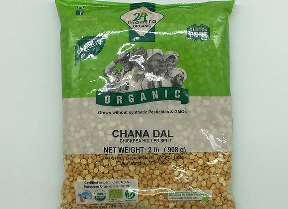 24 Mantra Organic Chana Dal 2 lbs.