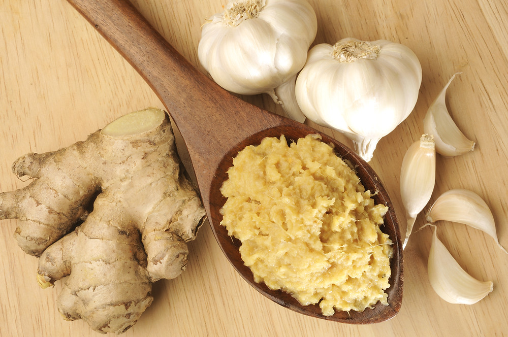 This is a picture of Garlic and Ginger