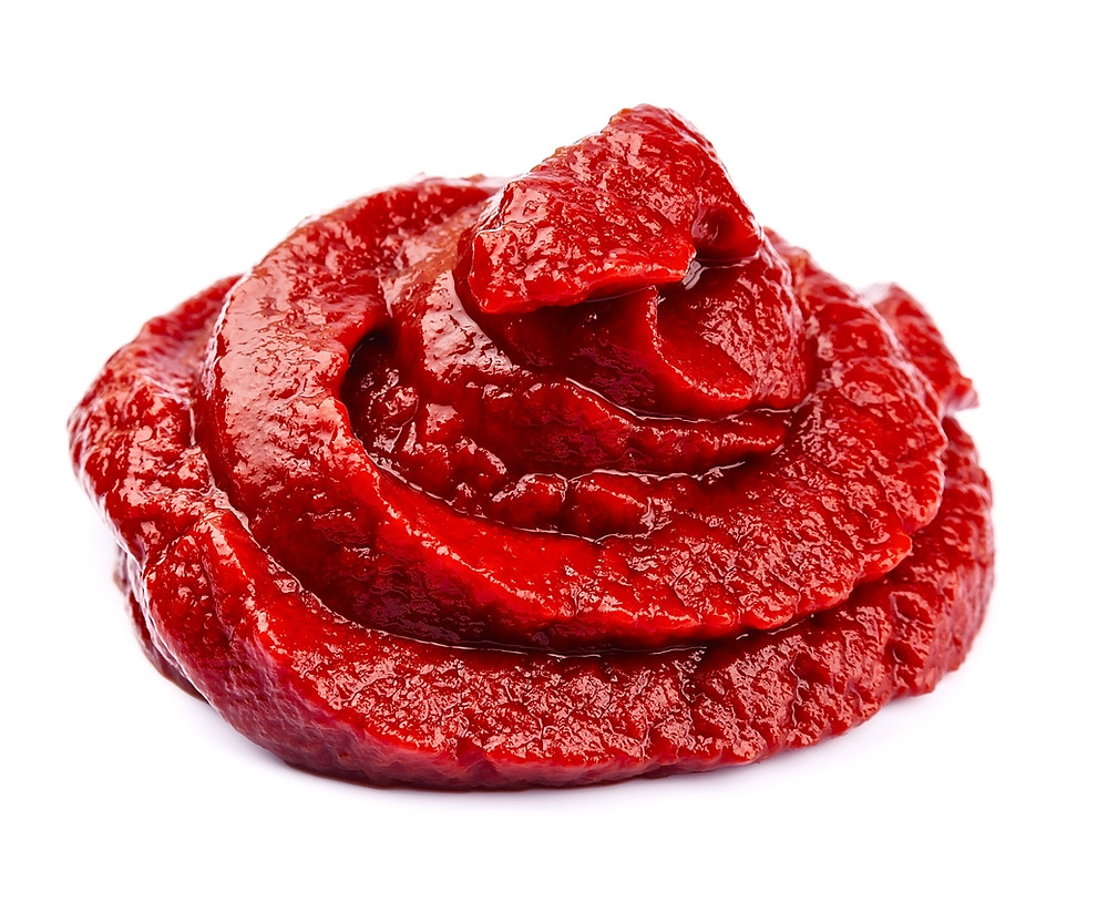 This is a picture of tomato paste