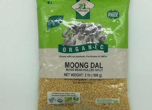 24 Mantra Organic Moong Dal 2 lbs.