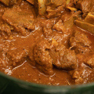 Nice, thick curry