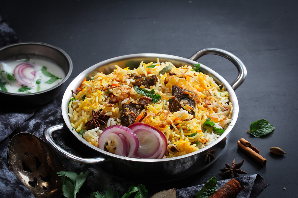 This is a picture of Biriyani