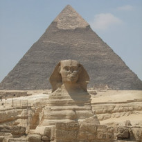 The Great Sphinx & The Pyramid of Giza