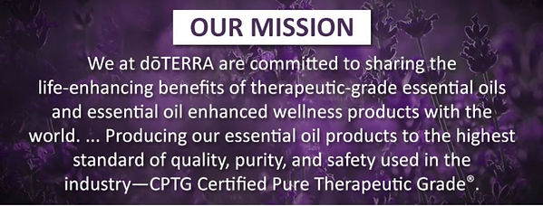 doTERRA' s mission