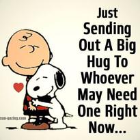 Big hug for you!