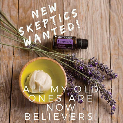New skeptics wanted! All my old ones are now believers.