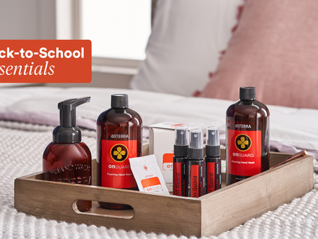 Get ready for class with back-to-school essential oils — and savings