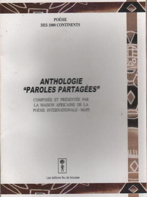 MAPI - Anthologie Paroles Partagées