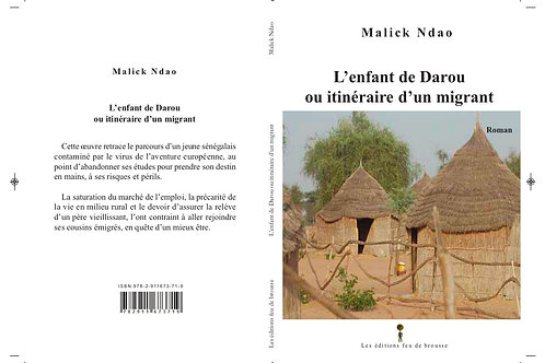 L'enfant de Darou ou itinéraire d'un migrant