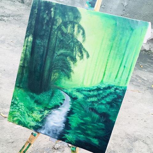 ST02 - Paysage forêt
