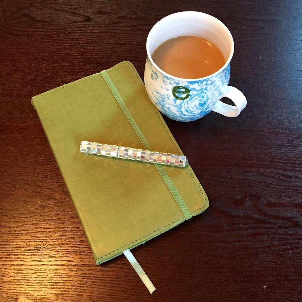 coffee & notebook