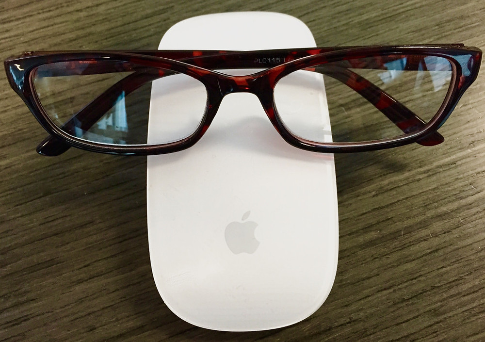 Glasses On Mouse