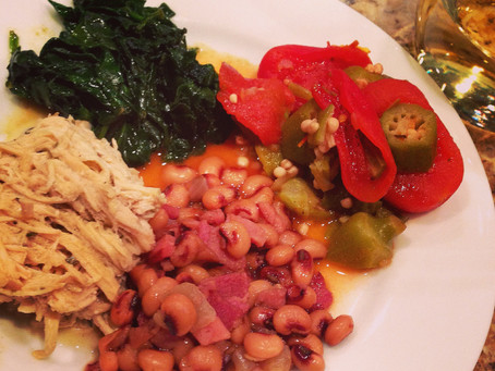black-eyed peas & another tale of New Year's Day survival