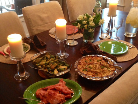 Sunday supper: early Easter