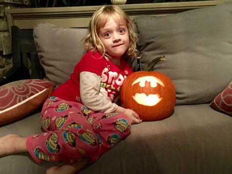 November first: roasted pumpkin seeds