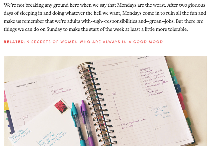 5 Ways to Make Monday Suck Less