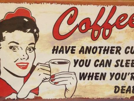 NaBloPoMo day 12: crazy cats, sleep gadgets & MOAR. COFFEE.