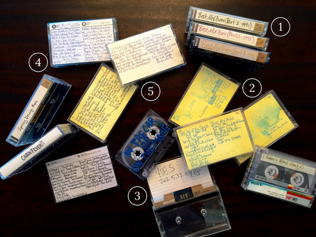 throwback Thursday: the art of the mix tape