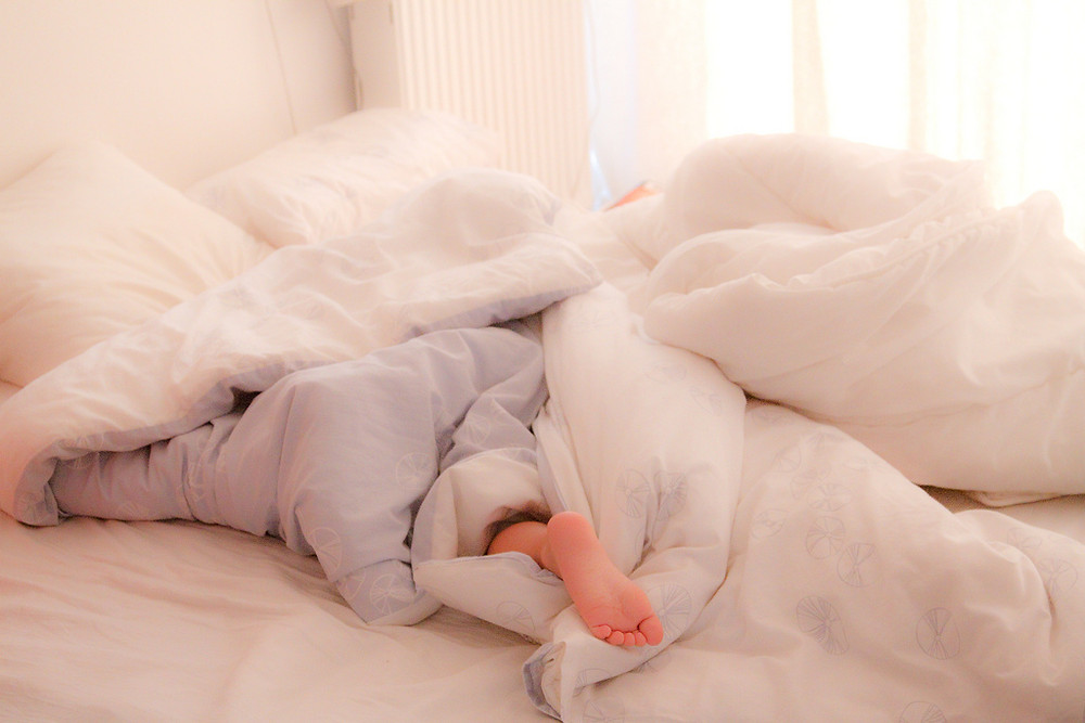 """Sleeping in Mommy's Bed""Krakow, Poland"