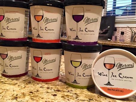 wine Wednesday: we all scream for wine ice cream!