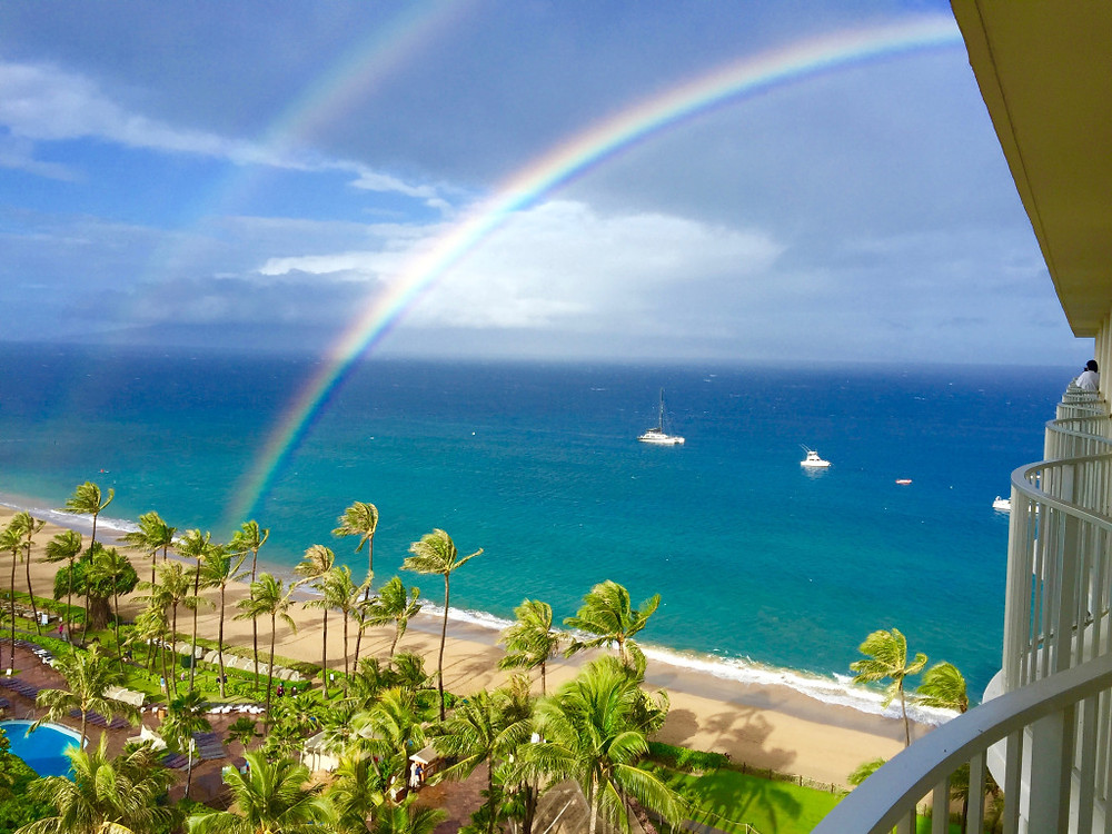 hawaii_maui_doublerainbow