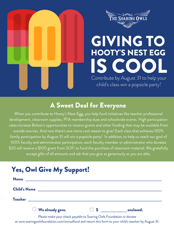 Win A Popsicle Party for Your Child's Class!