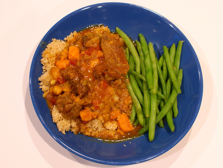March first: in like a lamb (tagine)