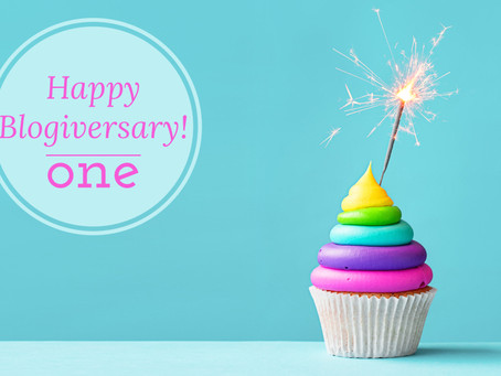 happy blogiversary: 1 year, 10 lessons