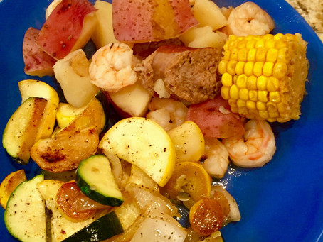 Sunday supper: lowcountry boil