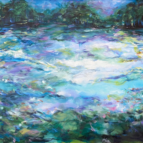 You bring out the Monet in me SOLD