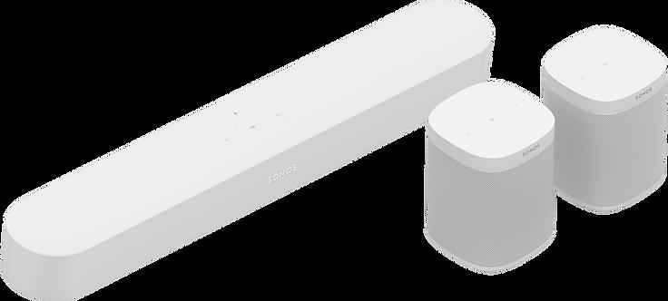 5.0 - Beam & 2 One SLs (White)