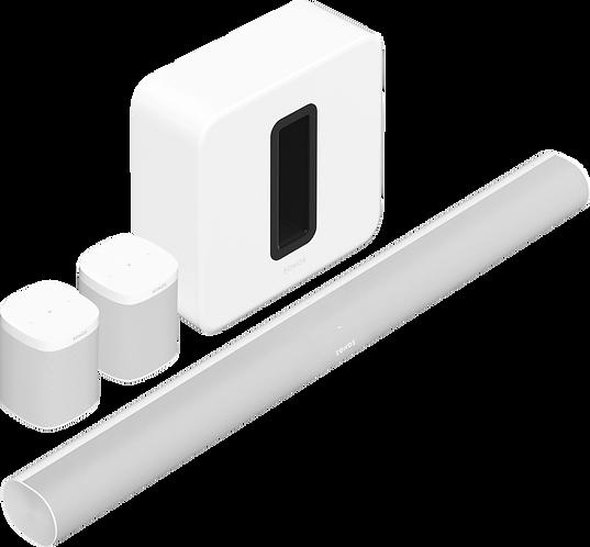 5.1.2 - Arc, Sub, & 2 One SLs (White)