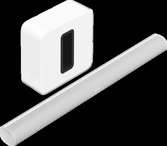 3.1 - Arc & Sub (White)
