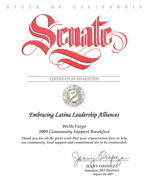 2009 Certificate of Recognition_State of
