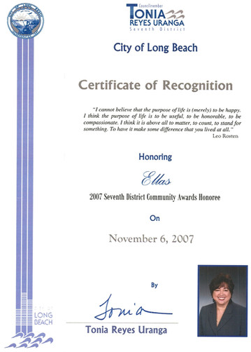 2007 Seventh District Community Award_Ci