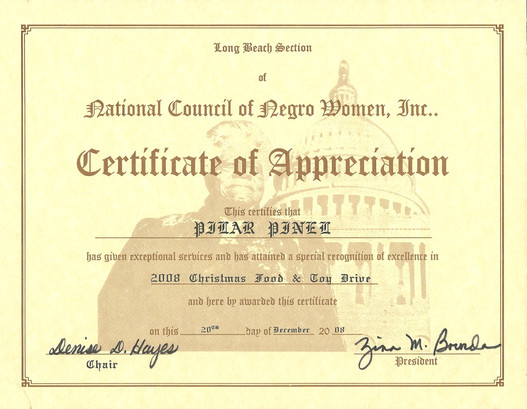 2008 Ceritificate of Appreciation_Long B