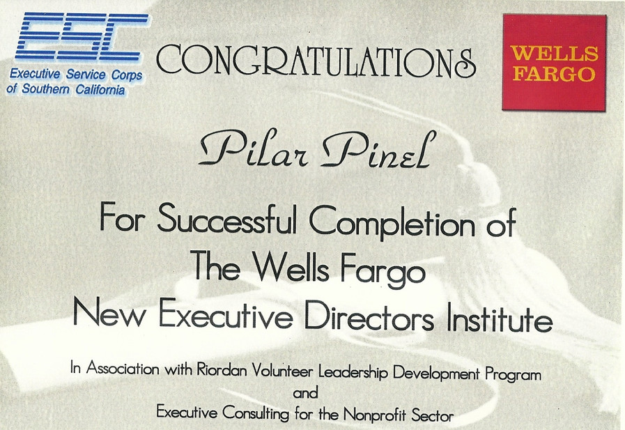 Certificate of Completion_The Wells Farg
