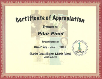 2007 Certificate of Appreciation_Charles