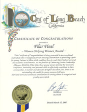 2007 Certificte of Congratulations_City