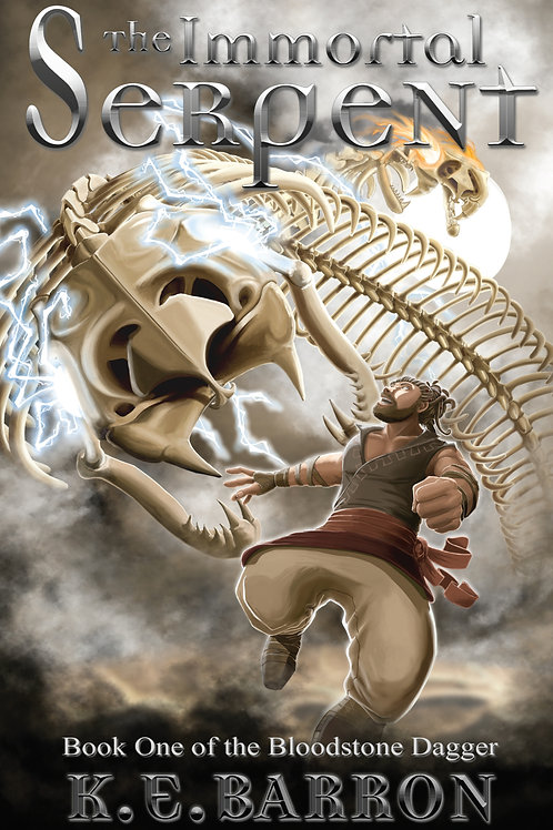 The Immortal Serpent (paperback) - K.E. Barron