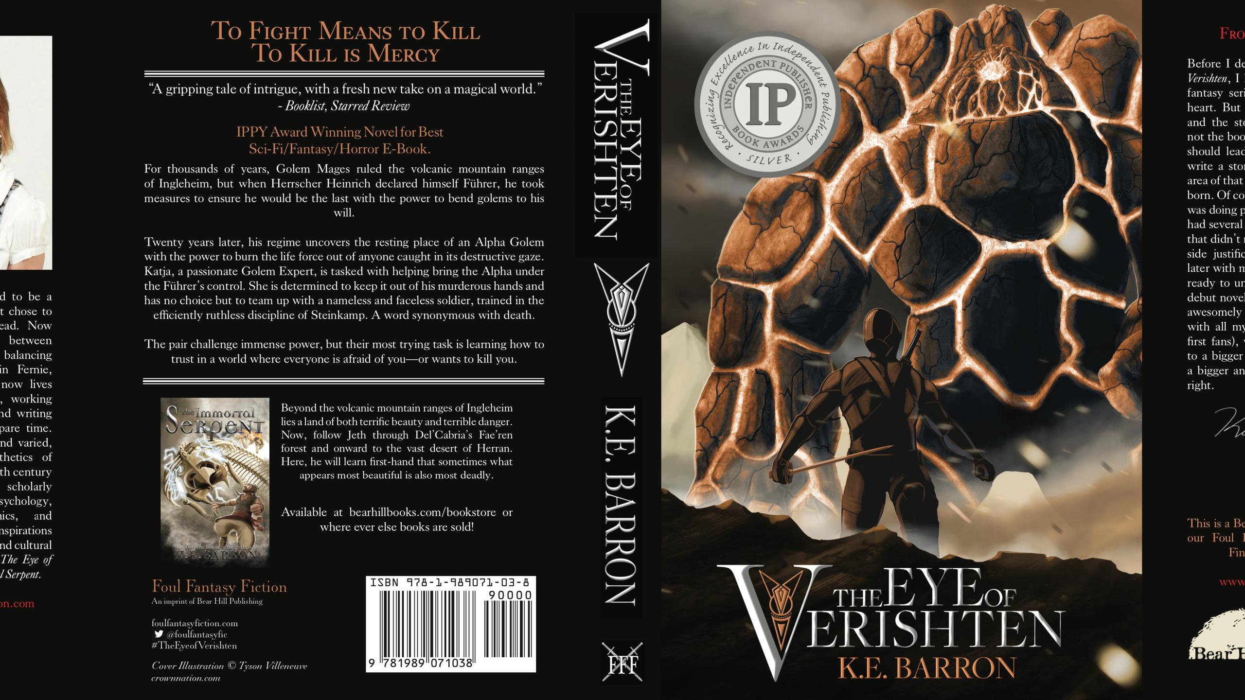 Cover art by Tyson Villeneuve
