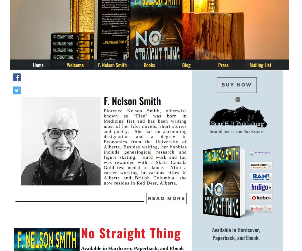F. Nelson Smith's New Author Website